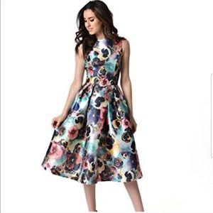 Chi Chi London Pansy Tea Dress